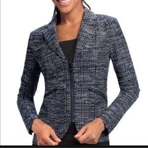 CAni zip up pocket blazer style 723 sz 12